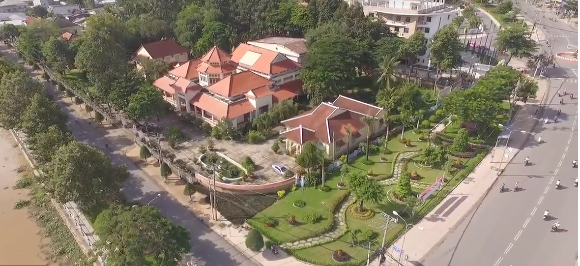 Toàn cảnh Bảo tàng tỉnh Đồng Tháp