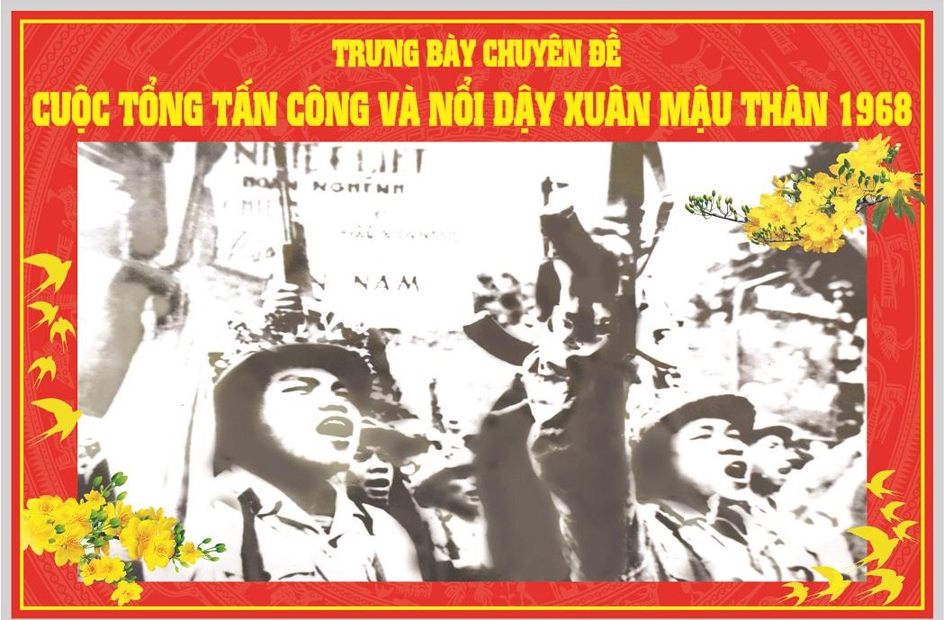 Một số hình ảnh, hiện vật về Cuộc tổng tấn công - nổi dậy xuân Mậu Thân - 1968